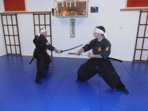 Traditional Japanese Martial Arts train the mind as well as the body to endure all